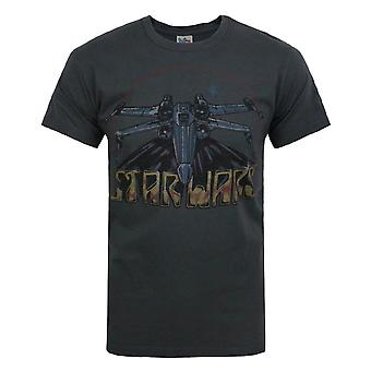 Junk Food Star Wars X-Wing Fighter 2 Men-apos;s T-Shirt