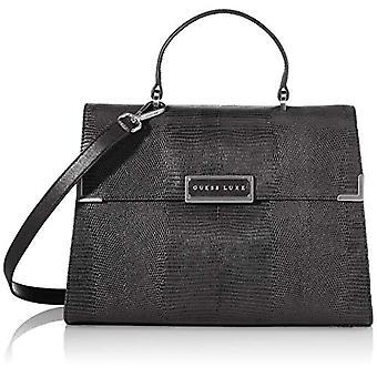 Guess Belle Black Woman shoulder bag (Black) 6.5x16x23 cm (W x H x L)