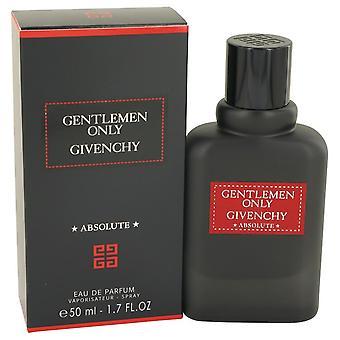 Gentlemen Only Absolute von Givenchy Eau De Parfum Spray 1,7 oz / 50 ml (Männer)