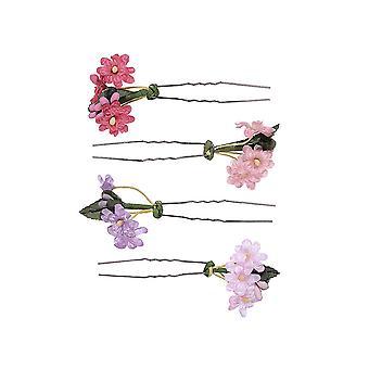 Zarte Floral Haarnadeln