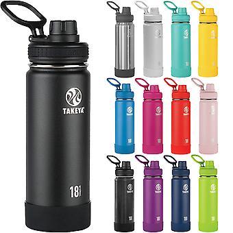 Butelka wody stali kwasoodpornej, izolowanych Takeya Actives 18 uncji