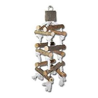 Nayeco Natural birds toy Swing Escalera (Birds , Toys)
