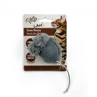 AFP Snow mouse (Cats , Toys , Plush & Feather Toys)