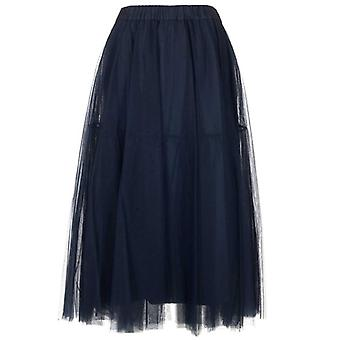 P.a.r.o.s.h. D620029x042 Dames's Blauwe Polyester Rok