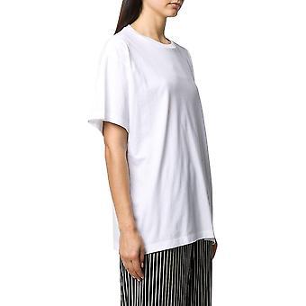 Mm6 Maison Margiela S52gc0151s23588100 Femmes-apos;s White Cotton T-shirt