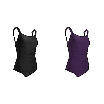 Tom Franks Womens/Ladies Ruched Detail Tummy Control Swimsuit