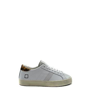D.a.t.e. Ezbc177021 Women's White Leather Sneakers