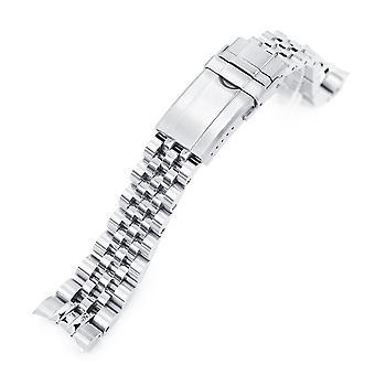 チューダーbb58用ストラップコード腕時計ブレスレット20mmアンガスジュビリー316lステンレススチールウォッチブレスレット、ブラッシング回転クラスプ
