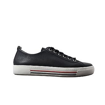 Remonte D0900-15 Navy Nahka Naisten Lace Up Casual Trainers
