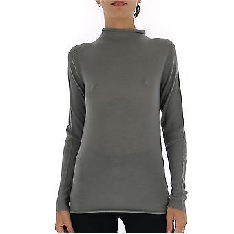 Fabiana Filippi Mad119b903n9078140 Women's Grey Cashmere Sweater