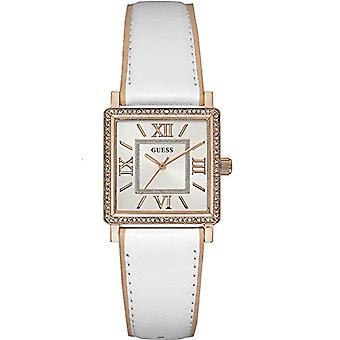 Guess ladies Quartz analogue watch with leather strap W0829L11
