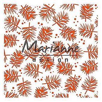 ماريان تصميم النقش المجلد باين DF3450 141x141mm
