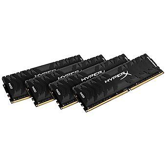 HyperX Predator HX426C13PB3K4/64 Memoria DDR4 64 GB Kit (4 x 16 GB), 2666 MHz CL13 DIMM XMP