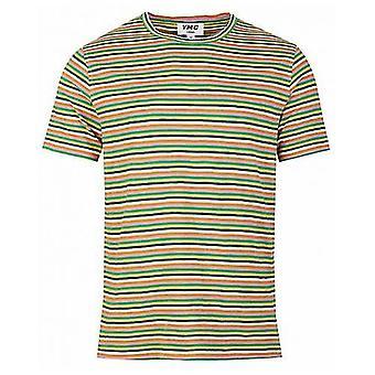 Ymc Multi Stripe Wild Ones T-Shirt