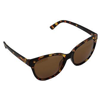 Aurinkolasit Hyvät Polaroid Wayfarer - Leopard Brown ilmainen brillenkokerS357_3