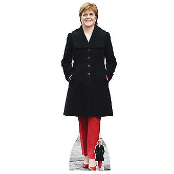 Nicola Sturgeon SNP Scottish Politician Lifesize Cardboard Cutout / Standee