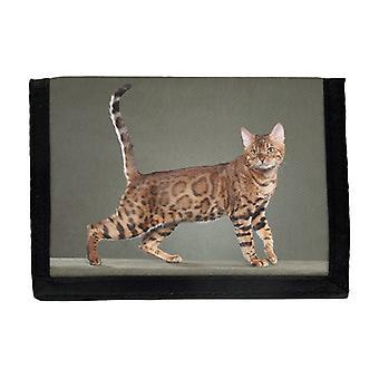猫ベンガル財布