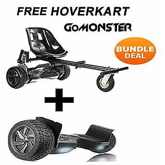Suspension Hoverkart med 8,5& Black All Terrain Bluetooth Segway Hoverboard