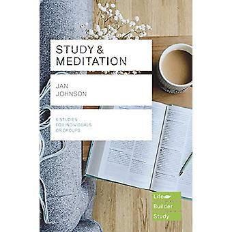 Study and Meditation by Jan Johnson - 9781783599882 Book