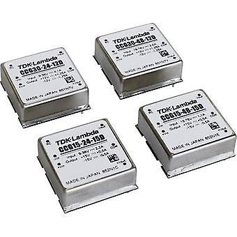 TDK-Lambda CCG-15-48-12D DC/DC -muunnin (tulostus) 24 V 0,65 A 15,6 W Ei. lähtöjen määrä: 1 x