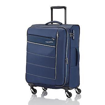 travelite Kite Trolley M, 4 Rollen, 64 cm, 67  L, Blau