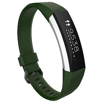 Replacement Bracelet Wristband Strap Wrist Band for Fitbit Alta & Alta HR Buckle[Green,Small] BUY 2 GET 1 FREE