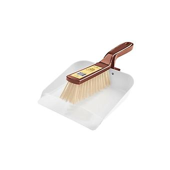 Groundsman Metal Dustpan And Brush Set