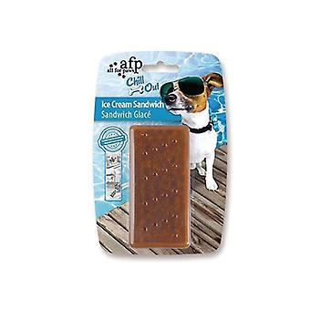 الكلب هلام Freezable لعبة تشيو ساندويتش الآيس كريم التبريد الثلاجة اللعب