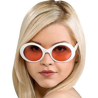 Glasögon utmärkt Capri vit