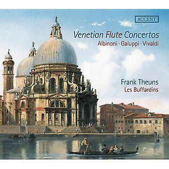 Vivaldi / Theuns - Venetian Flute Concertos [CD] USA import