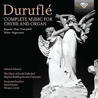 M. Durufle - Durufl : Complete Music for Choir and Organ [CD] USA import