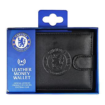 Chelsea FC RFID Embossed Leather Wallet