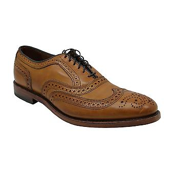 Allen Edmonds Mens ABCOT Leather Lace Up Dress Oxfords
