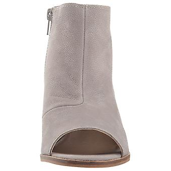 Lucky Brand Womens kasima Leather Open Toe Ankle Fashion Boots