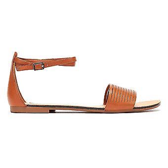 Vagabond Tia Ankle Strap Womens Brown Sandals