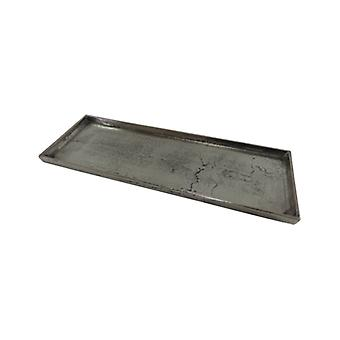 Tray Rectangle Old Metal