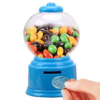 Söt Candy Dispenser Coin Bank Leksak Machine Gumball Lagring Jar