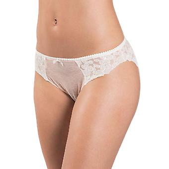 Aubade MJ27 Women's Femme Charmeuse Embroidered Knickers Panty Italian Brief