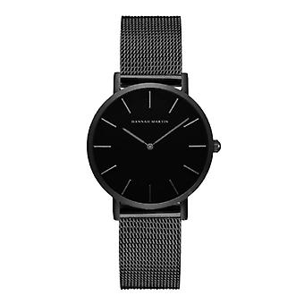 Hannah Martin Ladies Watch - Anologue Movement Mesh Strap for Women - CH36-WYH