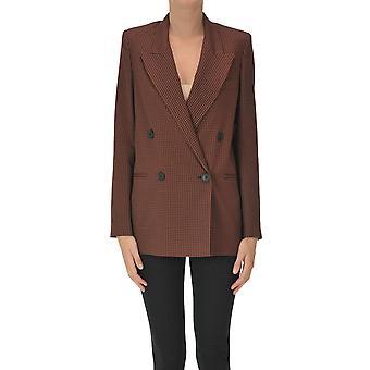 I.c.f. Ezgl456016 Women's Red Polyester Blazer