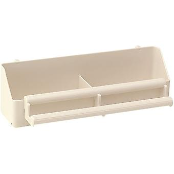 Ferplast Fpi 4514 Double Perch Troughfeeder (21x8.5x6.5cm)