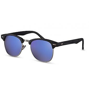 النظارات الشمسية الرجال المسافرين الرجال Cat.3 الأسود / الأزرق (CWI494)