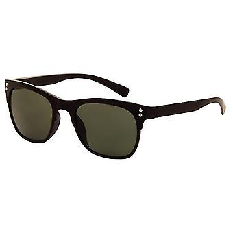 Sunglasses Unisex matt black / green lens (A-Z8220)