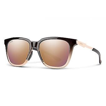 Zonnebril Unisex Roam bruin/roze goud