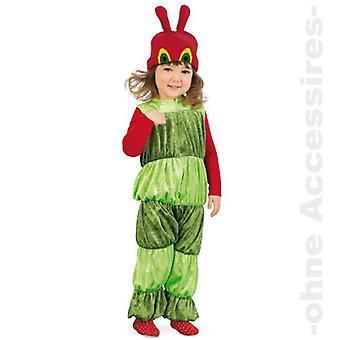 Liten caterpillar barn kostyme jente
