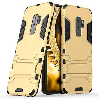 Shell for Samsung Galaxy S9+ / S9 Plus Space Armor Gold Hard Plastic Protection Case