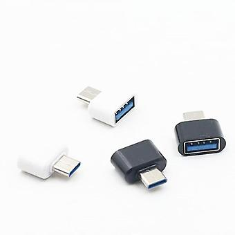 Usb To Type C Converter Usb Conversion Head Charger Straight Android Phones Usb