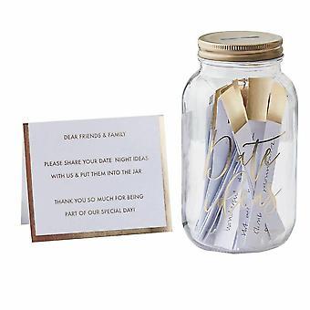 Guest Book - Date Night Jar - Wedding Gift