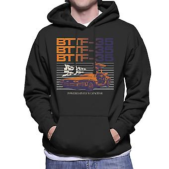 Back to the Future 35th Anniversary Flux Capacitor Men's Hooded Sweatshirt