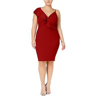 Soprano | Asymmetrical Ruffled Bodycon Dress